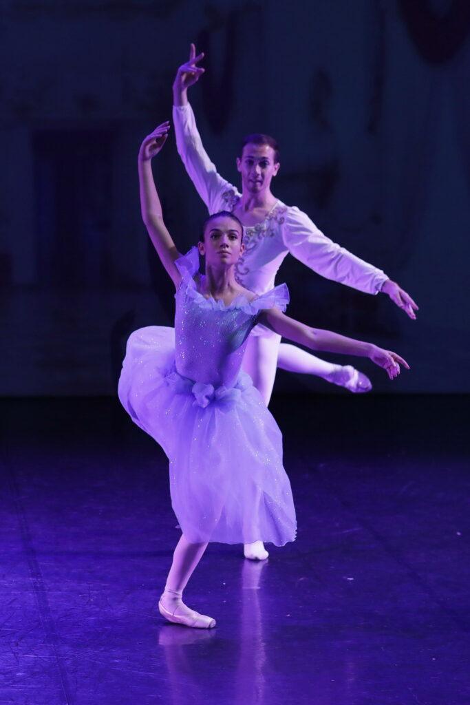 2 ballerini in azione